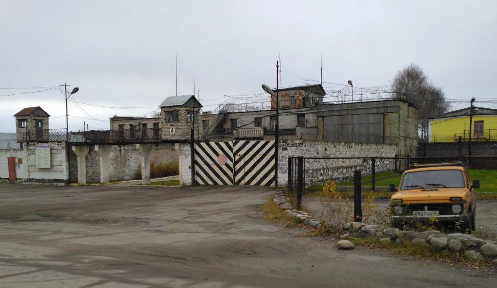 Исправительная колония №7, г. Сегежа, Республика Карелия.