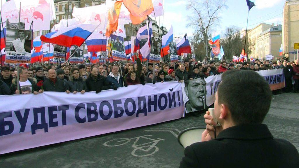 Русские оппозиционеры готовятся кМаршу памяти Бориса Немцова