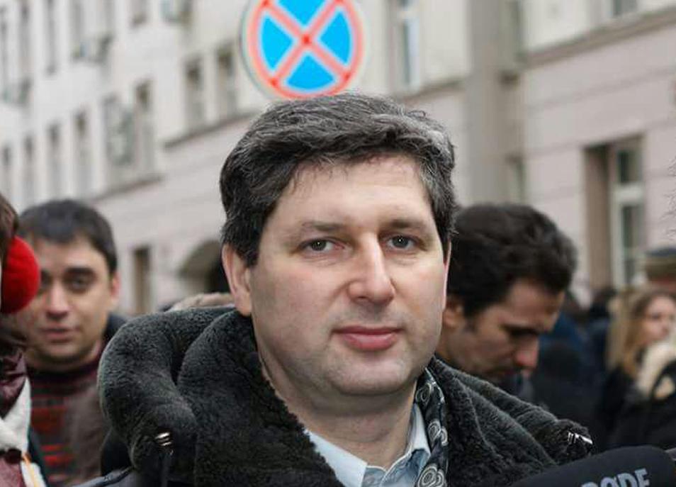 Вотношении активиста Марка Гальперина возбуждено административное дело